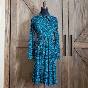 Diane von Furstenberg leopard dress